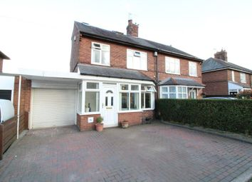 Thumbnail 3 bed semi-detached house for sale in Jackson Avenue, Ponteland, Newcastle Upon Tyne, Northumberland