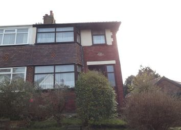 Thumbnail 3 bed semi-detached house for sale in Bertrand Avenue, Blackpool, Lancashire