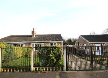 Thumbnail 3 bed semi-detached bungalow for sale in Barnsdale Way, Upton, West Yorkshire