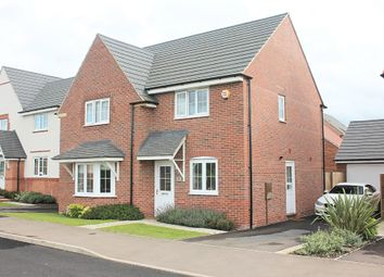Thumbnail 4 bedroom detached house for sale in Windlass Drive, Wigston