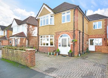 Thumbnail 5 bed detached house for sale in Byrefield Road, Guildford