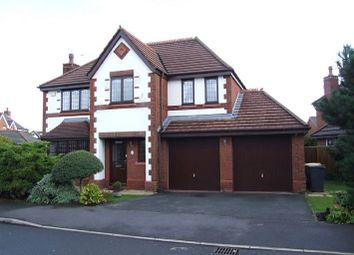 Thumbnail 4 bed detached house to rent in Kingsley Road, Cottam, Preston