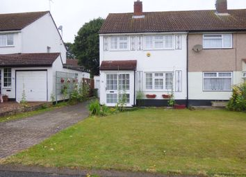 Thumbnail 3 bed semi-detached house to rent in Ash Close, Swanley