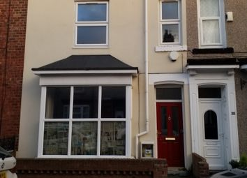 Thumbnail 3 bed terraced house to rent in Alderson Street, Hartlepool