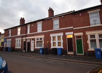 Thumbnail 4 bedroom shared accommodation to rent in Pybus Street, Derby