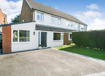 3 bed semi-detached house for sale in Croft Lea, Dronfield Woodhouse, Derbyshire S18