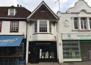 Thumbnail Retail premises to let in 19, Preston Street, Faversham, Kent