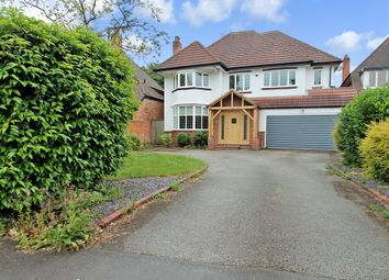 Thumbnail 5 bed detached house for sale in Silhill Hall Road, Solihull