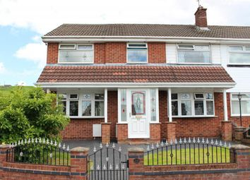 Thumbnail 4 bedroom semi-detached house for sale in Milton Close, Dukinfield