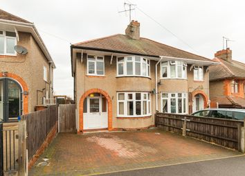 Thumbnail 3 bed semi-detached house for sale in Briar Hill Road, Northampton