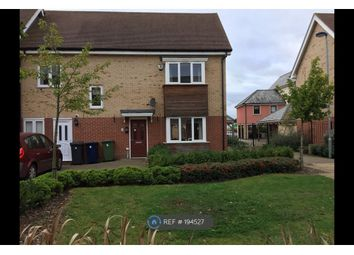 Thumbnail 3 bed semi-detached house to rent in Foxglove Way, Cambridge