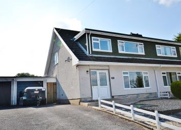 Thumbnail 3 bed semi-detached bungalow for sale in St. Annes Avenue, Cwmffrwd, Carmarthen