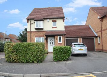 Thumbnail 3 bed detached house for sale in Bennison Drive, Romford