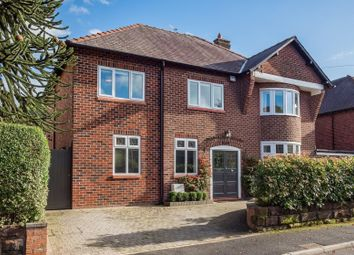 Thumbnail 5 bed detached house for sale in Grove Road, Hale, Altrincham