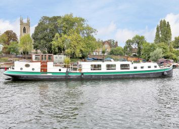 Thumbnail 2 bed houseboat for sale in Hampton Ferry Boathouse, Hampton