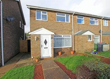 Thumbnail 3 bed end terrace house to rent in Gainsborough Crescent, Eastbourne