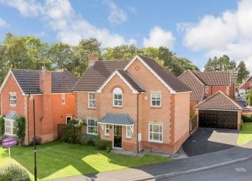 Thumbnail 4 bed detached house for sale in Birk Crag Court, Harrogate