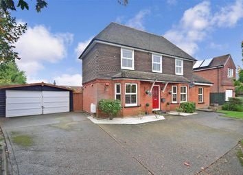 Thumbnail 3 bed detached house for sale in Stone Street, Lympne, Kent