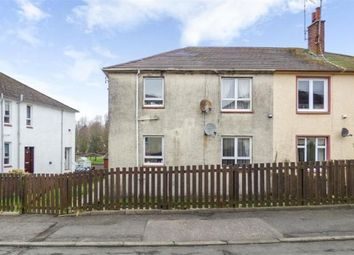Thumbnail 2 bed flat to rent in Kirkbride Crescent, Crosshill, Maybole