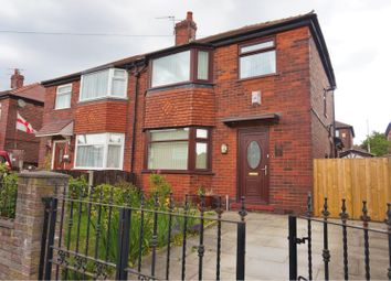 Thumbnail 3 bed semi-detached house for sale in Hurford Avenue, Manchester