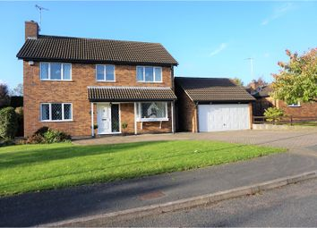 Thumbnail 4 bed detached house for sale in Coverdale Road, Wigston