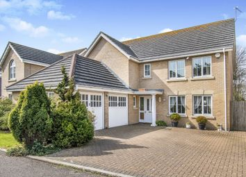 Thumbnail 4 bedroom detached house for sale in Badgerwood Close, Lowestoft