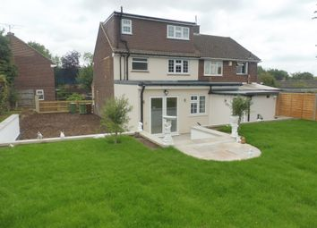 Thumbnail 4 bed semi-detached house for sale in Robin Hood Drive, Bushey