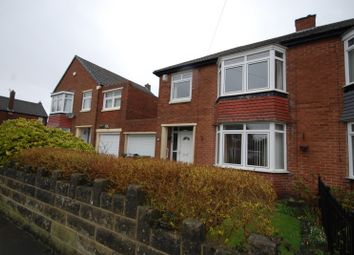 Thumbnail 3 bed semi-detached house for sale in Oakfield Road, Whickham, Newcastle Upon Tyne
