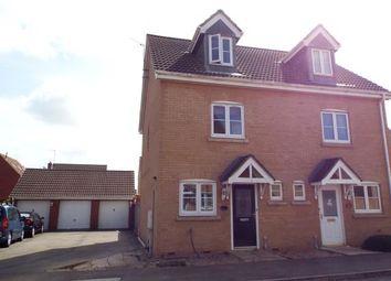 Thumbnail 3 bedroom semi-detached house for sale in West Lynn, King's Lynn, Norfolk