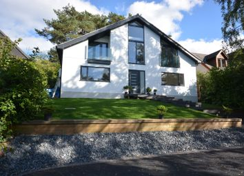 Thumbnail 4 bed detached house for sale in Hillside Road, Corfe Mullen