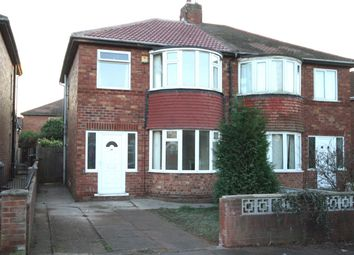 Thumbnail 3 bed semi-detached house for sale in Harrowden Road, Doncaster