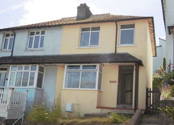 Thumbnail 3 bed semi-detached house to rent in West Road, Looe
