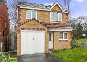 Thumbnail 3 bed detached house for sale in Oak Apple Crescent, Ilkeston