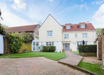 Thumbnail 4 bed detached house for sale in Coombes Road, Lancing
