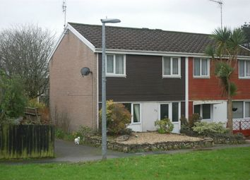 Thumbnail 3 bed semi-detached house to rent in Longpark Way, St. Austell