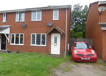 Thumbnail 2 bedroom semi-detached house for sale in Hopton Close, Tipton, West Midlands