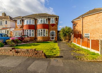 Thumbnail 3 bedroom semi-detached house for sale in Hernall Croft, Birmingham, West Midlands