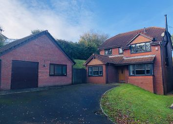 Thumbnail 4 bed detached house for sale in Ffordd Dryden, Killay, Swansea