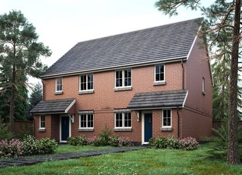 Thumbnail 3 bed semi-detached house for sale in Wilcot Road, Pewsey