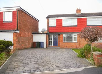 Thumbnail 3 bed semi-detached house for sale in Avalon Drive, Newcastle Upon Tyne