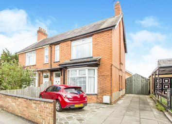 Thumbnail 3 bed semi-detached house for sale in Lutterworth Road, Blaby, Leicester