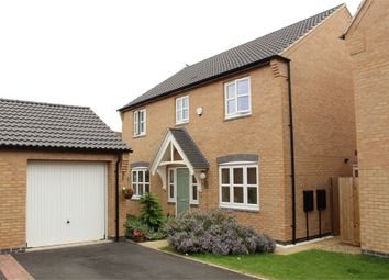 Thumbnail 4 bed detached house for sale in Townend Close, Lutterworth
