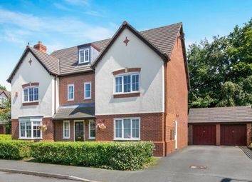 Thumbnail 6 bed detached house for sale in Clover Drive, Pickmere, Knutsford, Cheshire