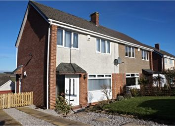 Thumbnail 3 bed semi-detached house for sale in Laverockhall, Lanark