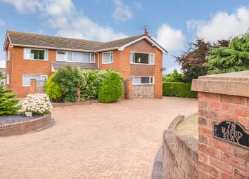 Thumbnail 4 bed detached house for sale in Meliden Road, Prestatyn