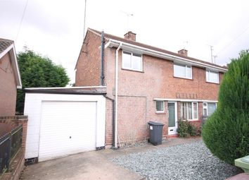 Thumbnail 3 bedroom semi-detached house for sale in Brookfield Crescent, Shirebrook, Mansfield, Derbyshire