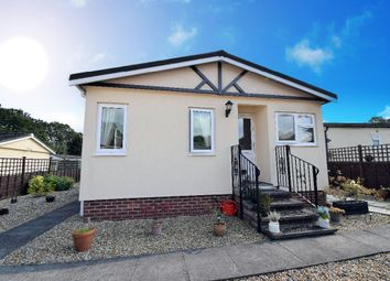 Thumbnail 2 bed mobile/park home for sale in B Orchard Way, The Causeway, Petersfield