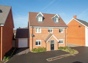 Thumbnail 4 bed detached house for sale in Rana Drive, Church Crookham, Fleet