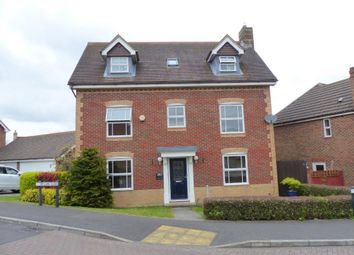 Thumbnail 5 bed detached house for sale in Firecrest Road, Basingstoke