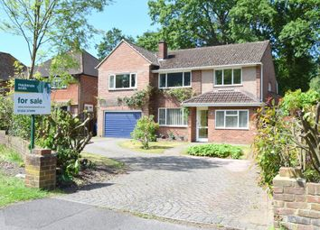 Thumbnail 4 bed detached house for sale in St. Michaels Road, Farnborough